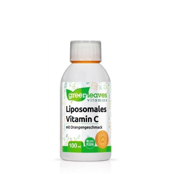 Liposomales Vitamin C mit Orangengeschmack 100 ml