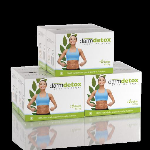 Darm Detox Greenleaves Vitamunda 3 Tage-, 6 Tage- und 12 Tage- Kur Darm Detox Greenleaves Vitamunda