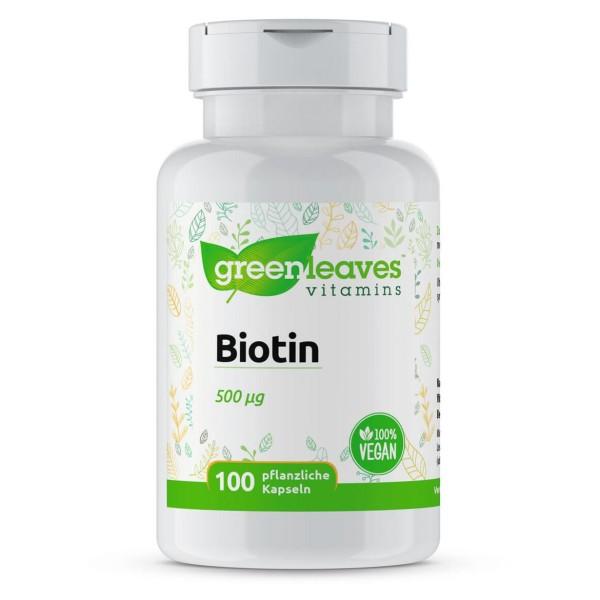 Biotin 500 mcg FF-081