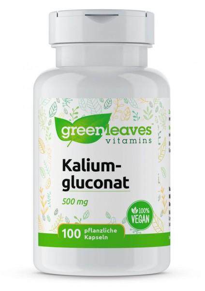 Kaliumgluconat 500 mg Greenleaves