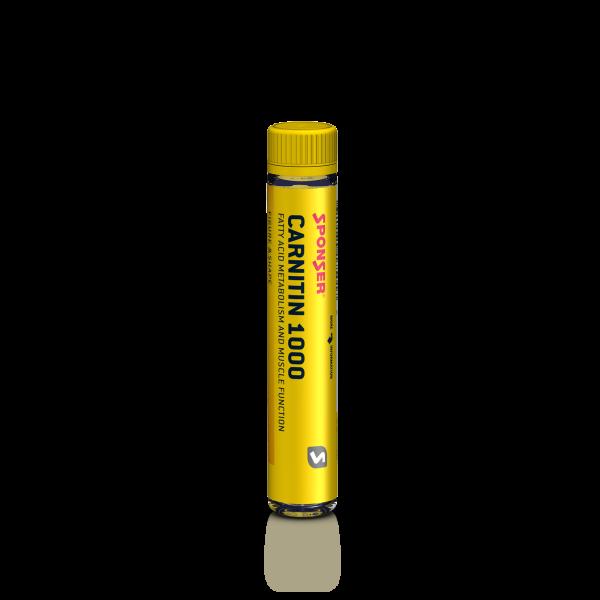 Carnitin 1000, PEACH Ampulle (25 ml = 28.5 g)