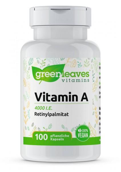 Vitamin A 4000 i.e. von greenleaves