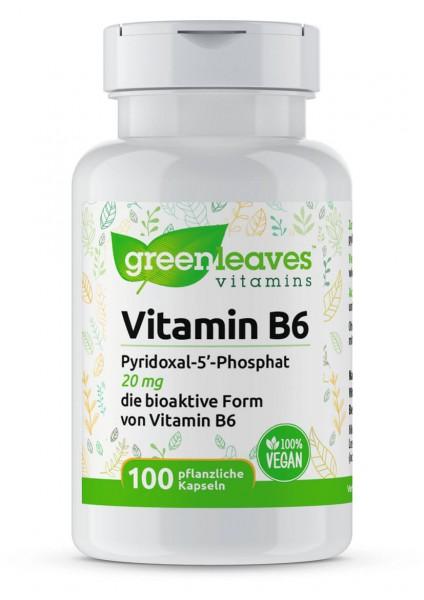 Vitamin B6 Pyridoxal-5-Phosphat, 20 mg von Greenleaves