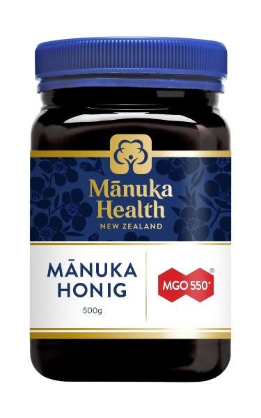 MGO 550+ Manuka-Honig, 500g