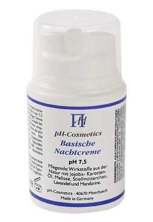 Basische Nachtcreme pH 7,5
