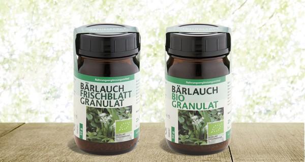 Bärlauch Frischblatt Granulat Dr.Pandalis