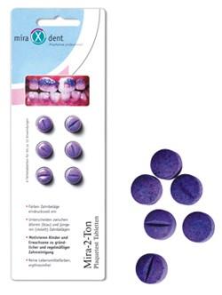 Miradent Mira-2-Ton Plaquetest-Tabletten