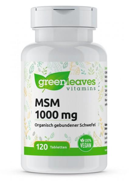 MSM 1000mg Opti MSM Kapseln Greenleaves