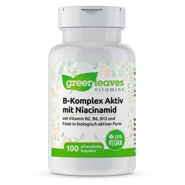 B-Komplex Aktiv mit Niacinamid
