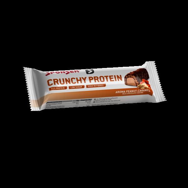Crunchy Protein, PEANUT-CARAMEL (12 x 50 g)