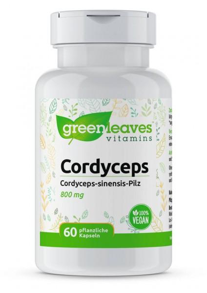 Cordyceps 800mg Greenleaves