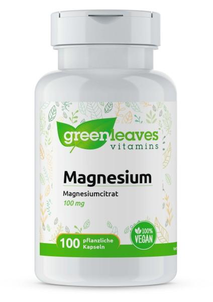 Magnesium Citrat 100 mg (100 Kapseln)