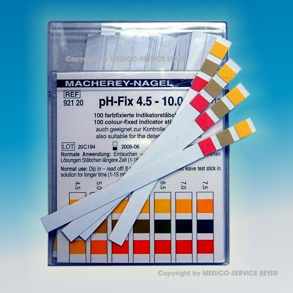 pH-Teststreifen