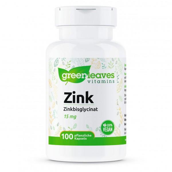 Zink Bisglycinat 15 mg