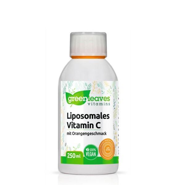 Liposomales Vitamin C mit Orangengeschmack