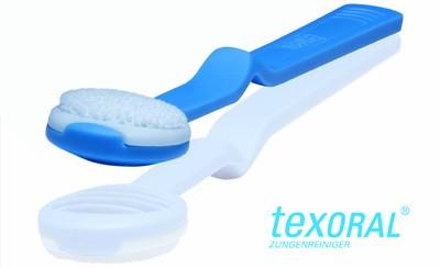 texOral- Zungenreiniger mit 1 Austauschpad
