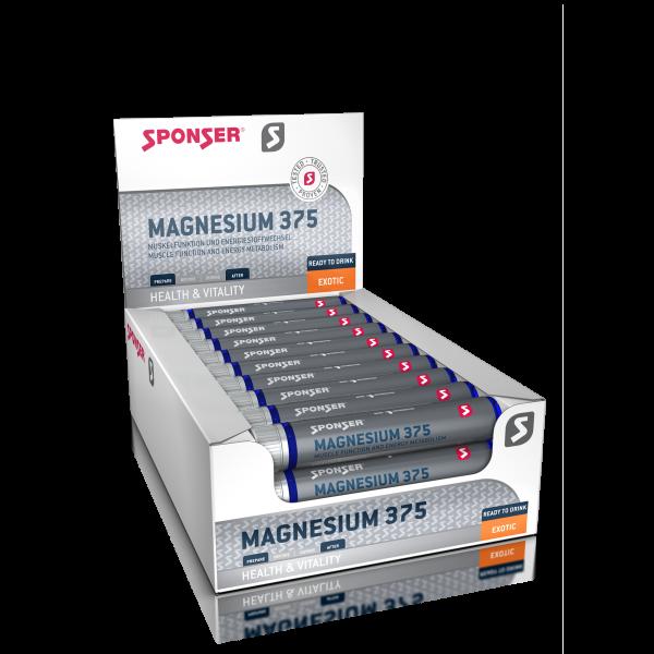 Magnesium 375, EXOTIC Display (30 x 25 ml)