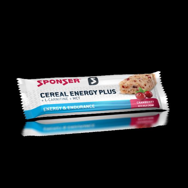 Cereal Energy Plus Bar, CRANBERRY Riegel (40 g)