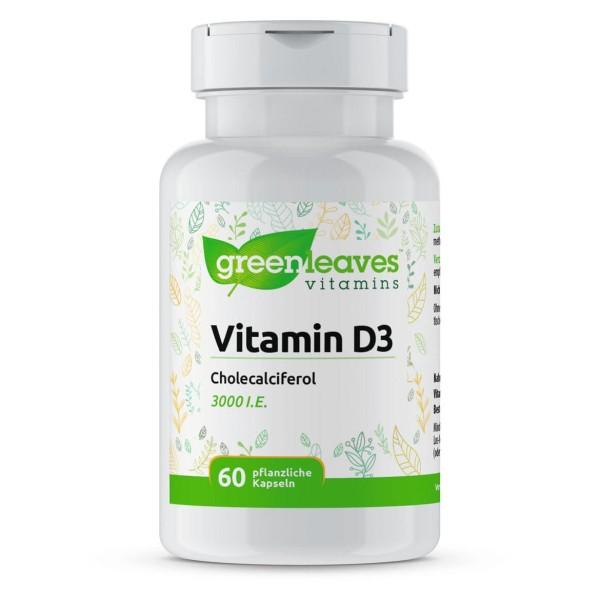 Vitamin D3 3000 I.E., 75 mcg