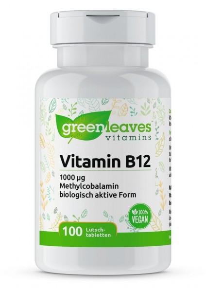 Vitamin B12 1000 mcg Lutschtabletten