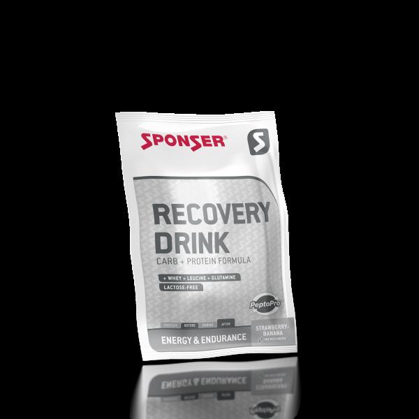 Recovery Drink, STRAWBERRY-BANANA Sachet (60 g)