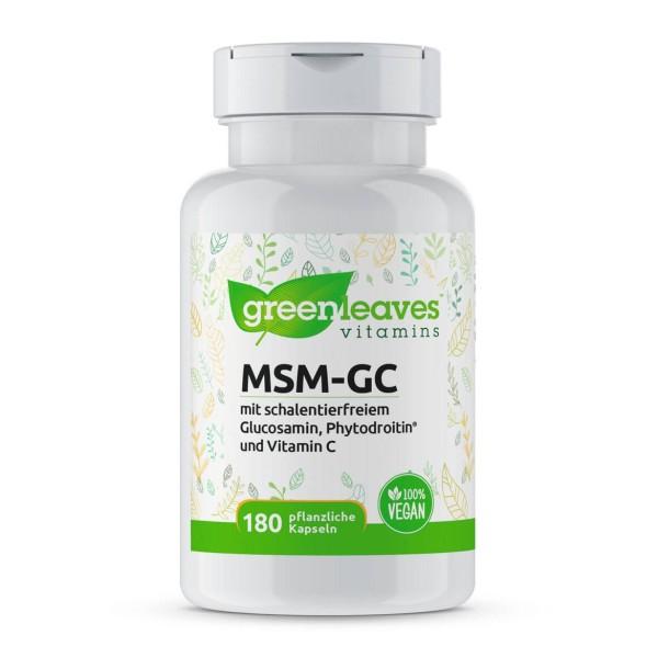 MSM-GC Kapseln vegan