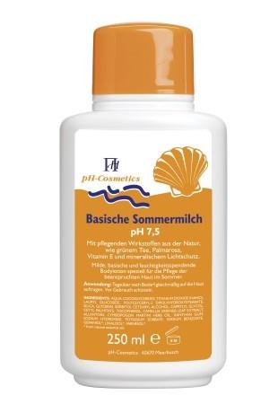 Basische Sommermilch pH7,5