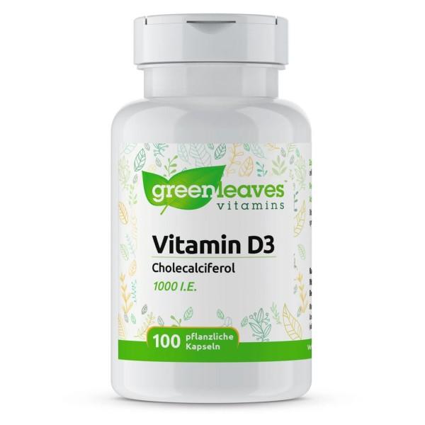 Vitamin D3 1000 I.E., 25 mcg