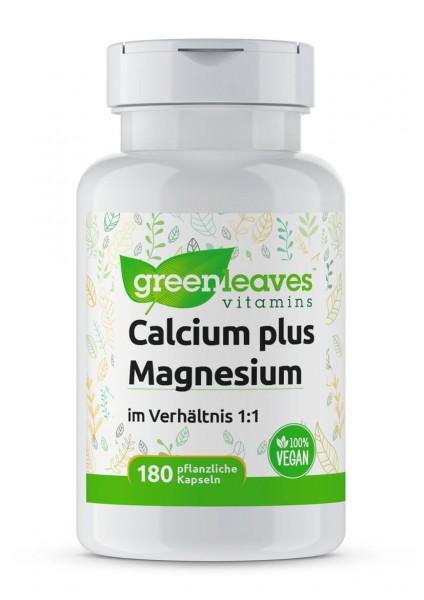 Calcium und Magnesium - NEUE FORMEL Greenleaves