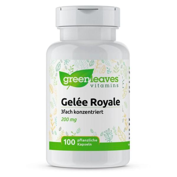 Gelée Royale 200 mg Futter für die Bienenkönigin, 3-fach konzentriert (entspricht 600 mg)