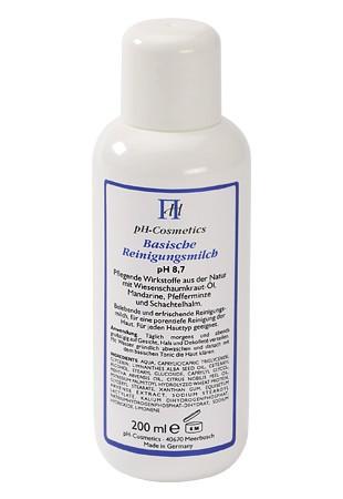 Basische Reinigungsmilch pH 8,7