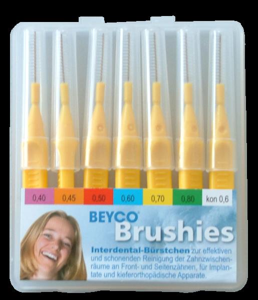 Interdentalbürstchen BEYCO Brushies Etui-Box mit 7 Brushies