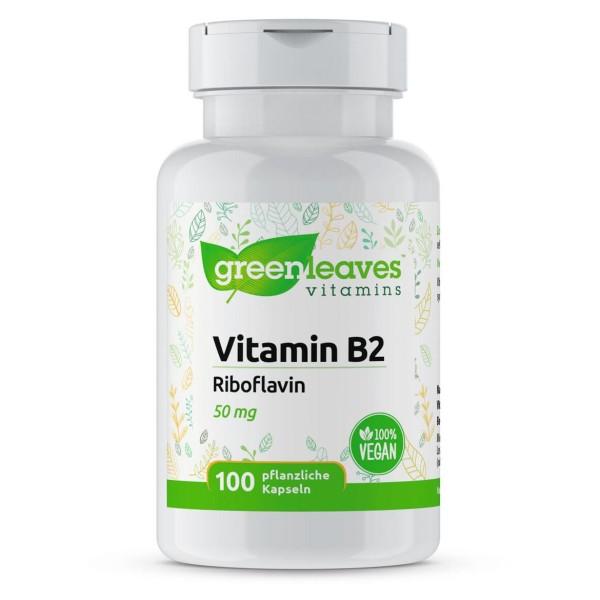 Vitamin B2 50 mg Riboflavin