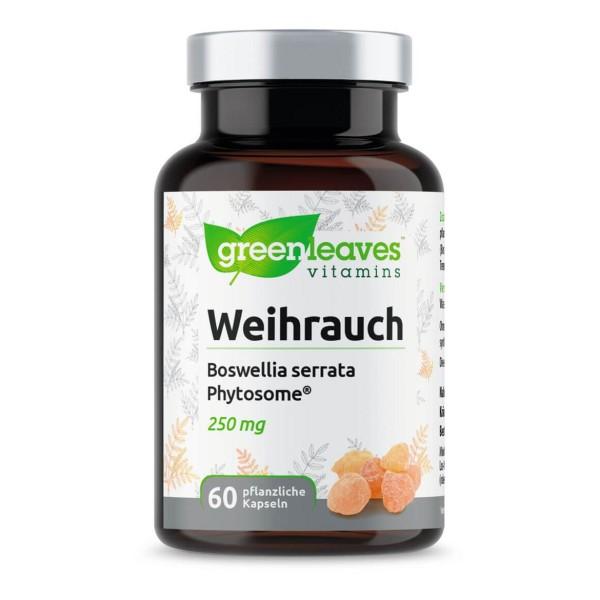 Weihrauch – Boswellia serrata-Extrakt 60 Kapseln von Greenleaves