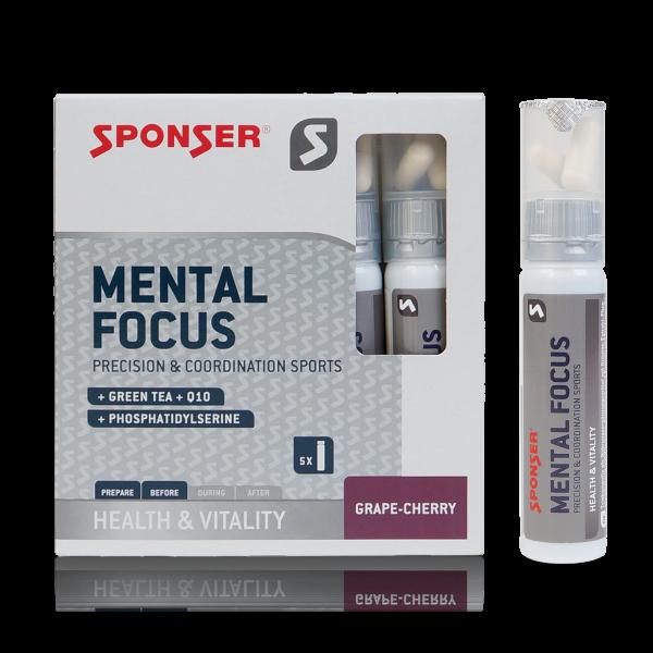 Mental Focus, GRAPE-CHERRY (5 Ampullen = 139 g)