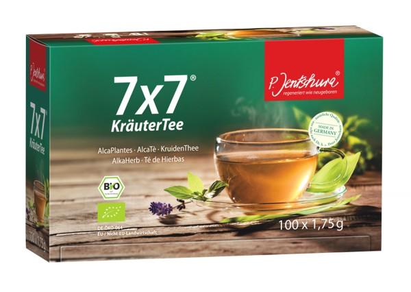 7x7 Kräuter Tee, 100 x 1,75g