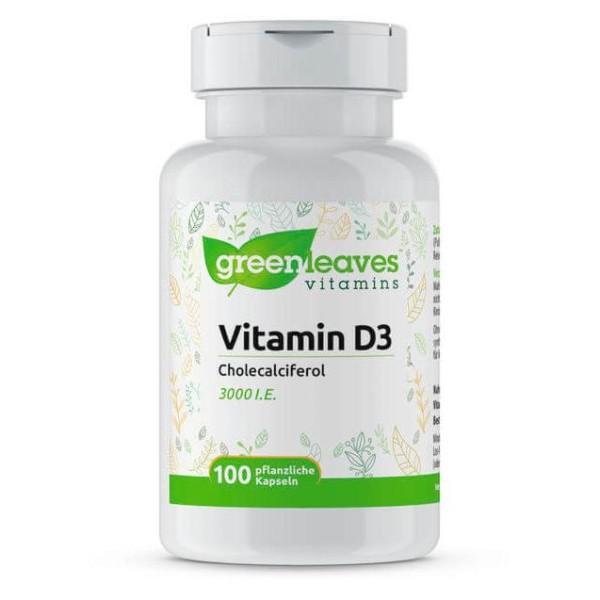 Vitamin D3 3000 I.E., 75 µg (100 Kapseln)