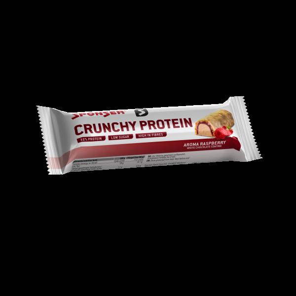 Crunchy Protein, RASPBERRY Display (12 x 50 g)